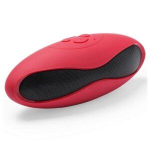 Altifalante Bluetooth FM USB 145154 Vermelho