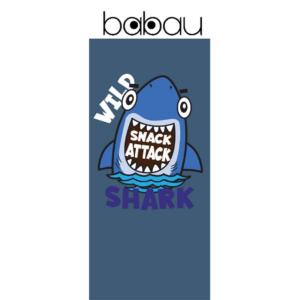 Toalha de Praia de Criança Wild Shark | 150 cm x 70 cm