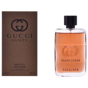 Perfume Homem Gucci Guilty Absolute Gucci EDP 50 ml