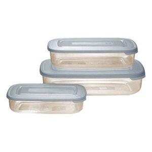 Conjunto de 3 Lancheiras Tontarelli (1 - 2 - 3 L) Cream
