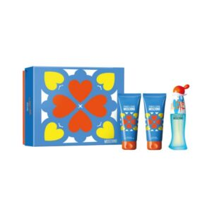 Conjunto de Perfume Mulher Cheap And Chic I Love Love Moschino (3 pcs)