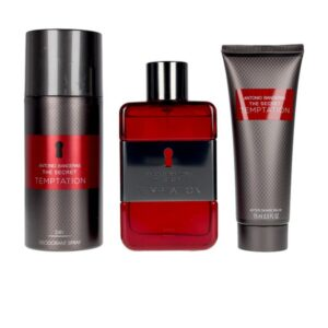 Conjunto de Perfume Homem The Secret Temptation Antonio Banderas EDT (3 pcs)