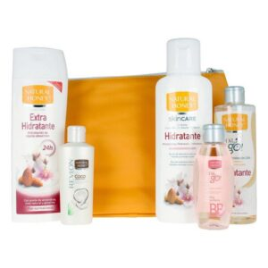 Conjunto de Cosmética Unissexo Natural Honey (5 pcs)