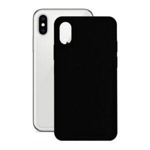 Capa para Telemóvel Iphone X/xs KSIX Preto Silicone