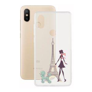 Capa para Telemóvel Xiaomi Mi A2 Contact Flex France TPU
