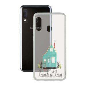 Capa para Telemóvel Samsung Galaxy A20s Contact Flex Home TPU