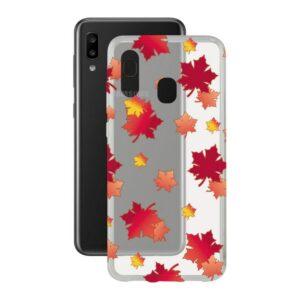 Capa para Telemóvel Samsung Galaxy A20e Contact Flex TPU Outono