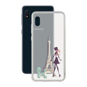 Capa para Telemóvel Samsung Galaxy A10e Contact Flex France TPU