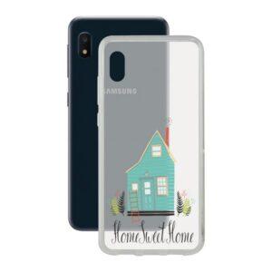 Capa para Telemóvel Samsung Galaxy A10e Contact Flex Home TPU
