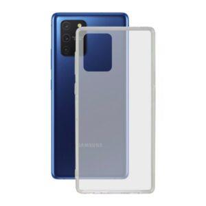 Capa para Telemóvel Samsung Galaxy A91/s10 Lite KSIX Flex TPU Transparente