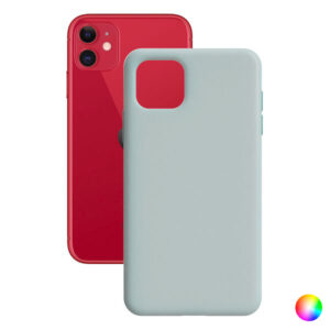 Capa para Telemóvel Iphone 11 Contact Silk Preto