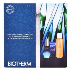 Conjunto de Cosmética Mulher Blue Therapy Eye Serum Biotherm (3 pcs)