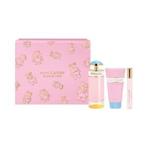 Conjunto de Perfume Mulher Candy Sugar Pop Prada (3 pcs)