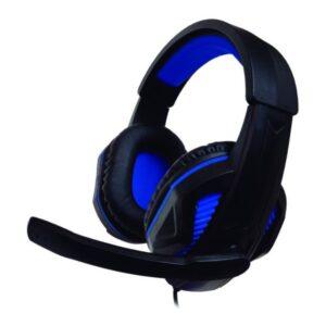 Auscultadores com microfone para Vídeojogos Ps4/xbox Nuwa ST10 Preto Azul