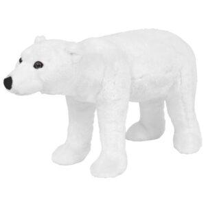 Brinquedo de montar urso polar peluche branco XXL - PORTES GRÁTIS
