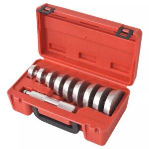 Kit de ferramentas p/ instalação de rolamentos e juntas 10 pcs - PORTES GRÁTIS