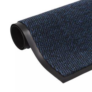 Tapete controlo de pó retangular tufado 90x150 cm azul - PORTES GRÁTIS