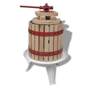 Prensa para fruta e vinho 12 L - PORTES GRÁTIS