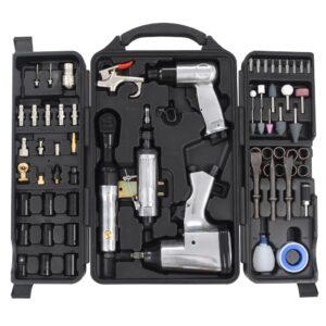 Kit de ferramentas pneumáticas 70 pcs - PORTES GRÁTIS