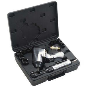Conjunto de ferramentas pneumáticas 16 pcs 1/2