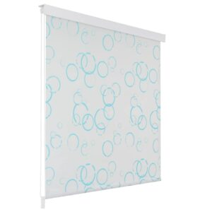 Estore de rolo para o duche 80x240 cm bolhas  - PORTES GRÁTIS