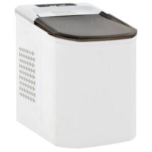 Máquina de fazer cubos de gelo 1,4 L 15 kg/24 h branco - PORTES GRÁTIS