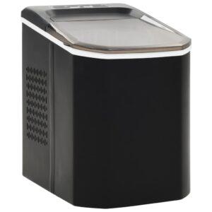 Máquina de fazer cubos de gelo 1,4 L 15 kg/24 h preto - PORTES GRÁTIS