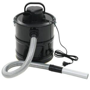 Aspirador de cinzas com filtro HEPA 1000 W 20 L preto - PORTES GRÁTIS