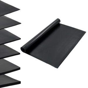 Tapete de borracha antiderrapante liso 1,2x5 m 2 mm - PORTES GRÁTIS