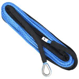 Corda de guincho azul 9 mm x 26 m - PORTES GRÁTIS