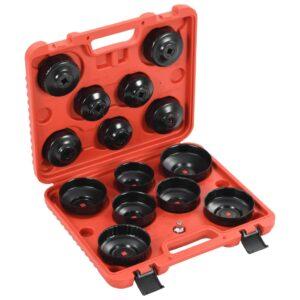 15 pcs conjunto ferramentas remoção filtro de óleo estilo copo  - PORTES GRÁTIS