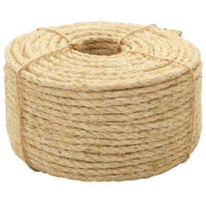 Corda 100% sisal 6 mm 500 m - PORTES GRÁTIS