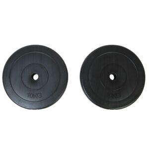 Disco de peso 2 x 10 kg  - PORTES GRÁTIS