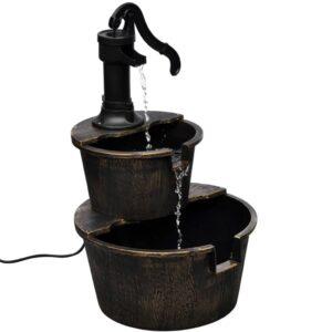 Fonte de parede com design de bomba manual - PORTES GRÁTIS