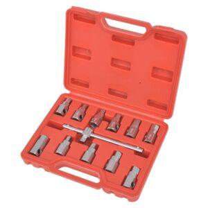 Conjunto chaves/soquetes para bujão óleo 3/8