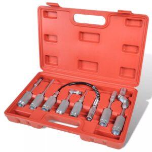 Kit de ferramentas para lubrificação de equipamentos - 7 peças  - PORTES GRÁTIS