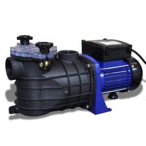 Bomba elétrica para piscina 500W / Azul - PORTES GRÁTIS