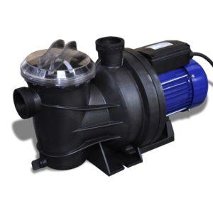 Bomba elétrica para piscina 800W / Azul - PORTES GRÁTIS