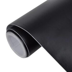 Película de carro, em preto mate, impermeável, sem bolhas 500 x 152 cm - PORTES GRÁTIS