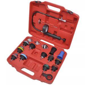 Conjunto 18 ferramentas testador de pressão do radiador - PORTES GRÁTIS