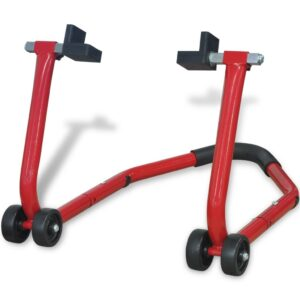 Cavalete traseira moto, vermelho - PORTES GRÁTIS