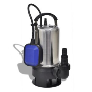 Bomba submersível de águas sujas 750 W 12500 L/h - PORTES GRÁTIS