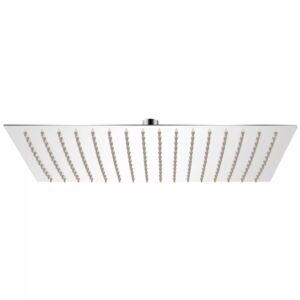 Cabeça de chuveiro retangular, aço inoxidável 30x40 cm - PORTES GRÁTIS