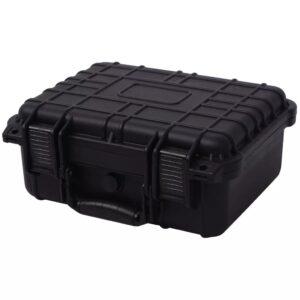 Caixa protetora de equipamento 35x29,5x15 cm preto - PORTES GRÁTIS