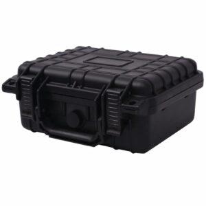 Caixa protetora de equipamento 27x24,6x12,4 cm preto - PORTES GRÁTIS