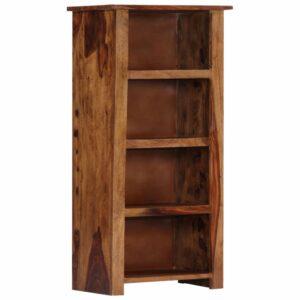 Estante 50x30x100 cm madeira de sheesham maciça - PORTES GRÁTIS