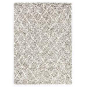 Tapete berbere shaggy PP cor areia e bege 120x170 cm - PORTES GRÁTIS