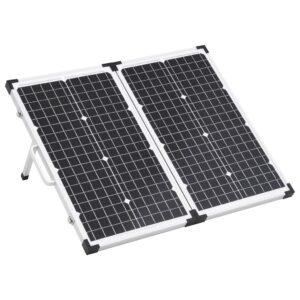 Mala com painel solar dobrável 60 W 12 V   - PORTES GRÁTIS