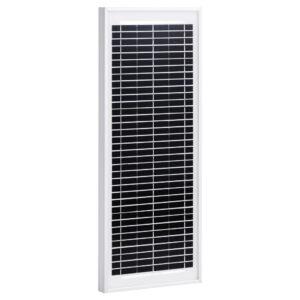 Painel solar 10 W alumínio policristalino e vidro de segurança - PORTES GRÁTIS