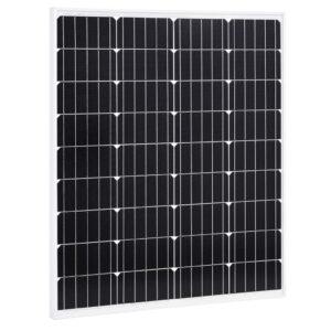 Painel solar 80 W alumínio monocristalino e vidro de segurança - PORTES GRÁTIS
